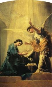 La Anunciación - oil -Francisco Goya (1785)
