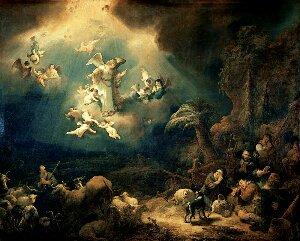 Christmas Carols: Angels we have heard on high   The Peanut Gallery
