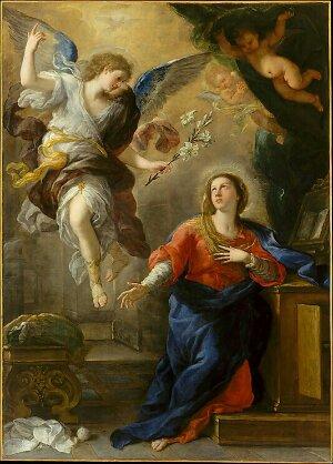 Morning Reading: Luke 1 26-33, 38 NLT – The Peanut Gallery