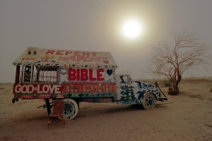 Repent, Slab City, Niland, CA © 2010 Mark Indig