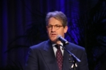 Bestselling author Eric Metaxas address industry leaders at the National Religious Broadcasters dinner in Nashville, Tenn., on Sunday, March 3, 2013 (Photo: The Christian Post/Scott Liu)