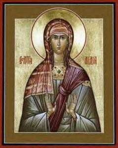 A Greek Orthodox Painting of St. Lydia