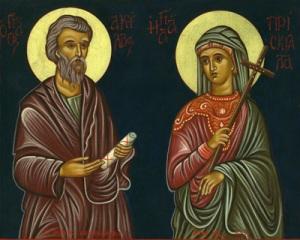 Priscilla and Aquila, Companions of Saint Paul