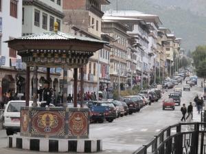 Bhutan city street