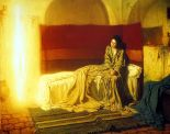 "Henry Ossawa Tanner - ""The Annunciation"", oil on canvas, Philadelphia Museum of Art"