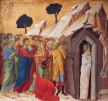 'The Raising of Lazarus' Duccio di Buoninsegna (1310–11) Kimbell Art Museum