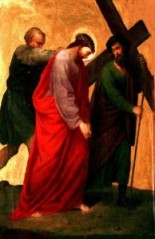 Station 5- Simon carries Jesus' cross