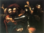 The Taking of Christ  by Caravaggio, ca. 1602.