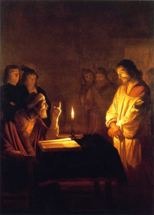 Christ before the High Priest Gerrit van Honthorst, c. 1617 Oil on canvas National Gallery, London