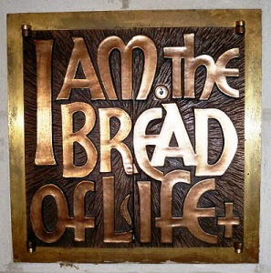 Eucharistic images ... I am the Bread of Life (Photograph: Patrick Comerford, 2010)