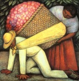 The Flower Carrier Diego Rivera,  1935.