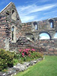 Iona Nunnery Ruins  dates to thirteenth century