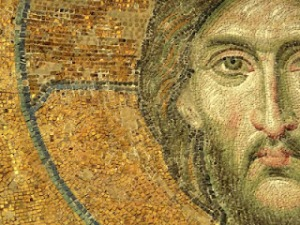 jesus head  mosaic