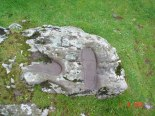 St Columba's footprints, Keil, Kintyre.  St Columba is credited with bringing Christianity to Scotland way back when and these are supposed to be his footprints.