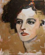 """Countess Jezebel""  Painted by Joan Baez"