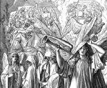 "Julius Schnorr von Carolsfeld, ""The Silence in Heaven"", from Die Bibel in Bildern (""The Bible in Pictures"", 1852-1860)"