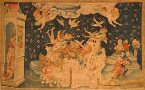 The Fall of Babylon  (Tapestry of the Apocalypse); Angers, France