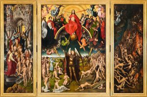 The Last Judgment Hans Memlinc Triptych, 1466-1473 National Museum, Gdańsk Poland
