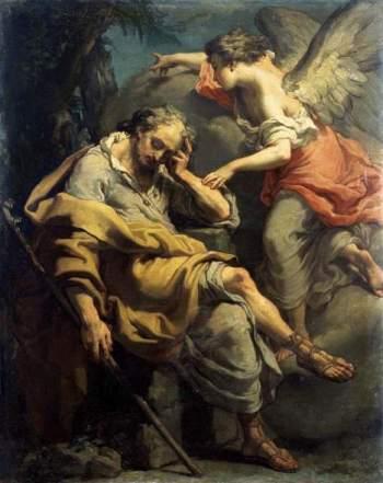 Angel Appears to Joseph in a Dream Gaetano Gandolfi, c. 1790
