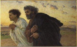 Peter and John Running to the Tomb Eugène Burnand, 1898 Musée d'Orsay, Paris
