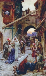 Jesus healing the sick in Capernaum