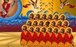 An icon of the 21 Coptic martyrs of Libya by artist Tony Rezk http://www.catholicherald.co.uk/commentandblogs/2015/02/24/can-catholics-recognise-the-21-murdered-coptic-christians-as-martyrs/