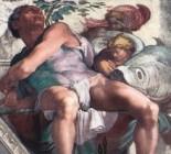 The Prophet Jonah Michelangelo (c. 1542–1545) Sistine Chapel, Vatican Palace, Vatican City