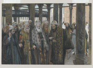 The Chief Priests Take Counsel Together James Tissot, 1886-1894 The Brooklyn Museum