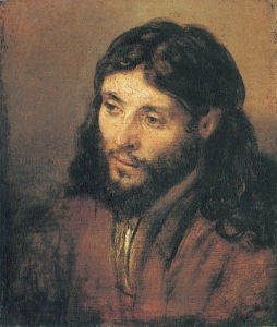 Head of Christ Rembrandt, 1652 Gemäldegalerie, Berlin