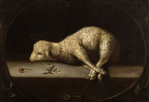 The Sacrificial Lamb Josefa de Ayala (Portuguese, ca. 1630-1684)  The Walters Art Museum, Baltimore, Maryland