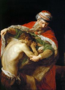 The Return of the Prodigal Son Pompeo Batoni, 1773 Kunsthistorisches Museum Vienna, Austria