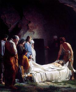 Burial of Christ Carl Heinrich Bloch (1834-90)