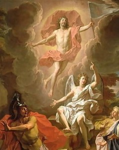Resurrection of Christ  by Noel Coypel, 1700 Musée des Beaux-Arts de Rouen