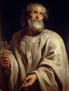 Saint Peter as Pope Peter Paul Rubens, 1610-12 Museo del Prado, Madrid
