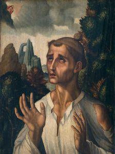 Saint Stephen  by Luis de Morales, 1574 Museo del Prado, Madrid