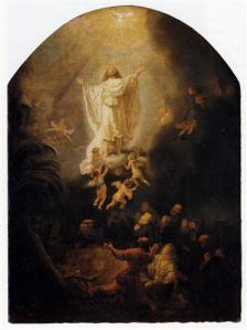 The Ascension Of Christ  Rembrandt, 1636