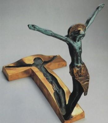 """Resurrection""  by Slovenian sculptor Andrej Ajdič, placed in Medjugorje, 1998"