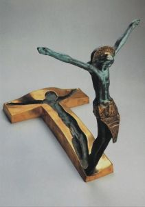 """Resurrection""  by Slovenian sculptor Andrej Ajdič, placed in Medjugorje, 1998"