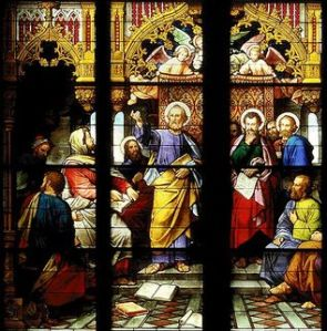 The Council of Jerusalem The St Peter window, c.1870 Cologne Cathedral, Germany