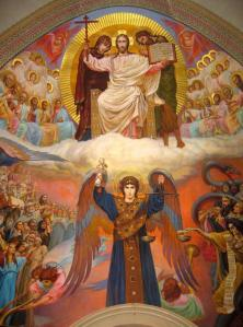 Unknown Artist. The Last Judgement. Church of the Most Holy Mother of God 'of Kazan'. Tolyatti RF. 2001