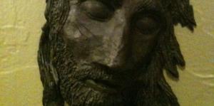 Jesus in stone