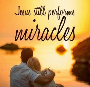 miracles in Jesus' name