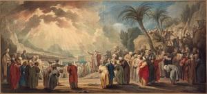 Moses chooses seventy elders (1739) Jacob de Wit City Archives, Amsterdam
