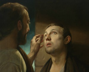 Christ Healing the Blind Man Andrey Mironov, 2009