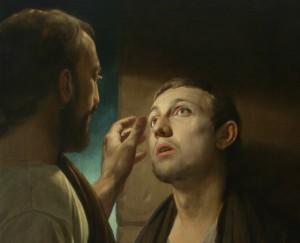 Christ Healing the Blind Man Andrey Mironov, 2009