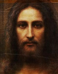 Face of Christ Painting based on the Shroud of Turin