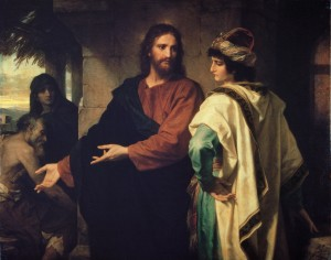 Christ and the Rich Young Ruler 1888, Heinrich Hofmann BYU, Museum of Art