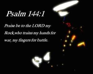 Psalm 144.1 Marine