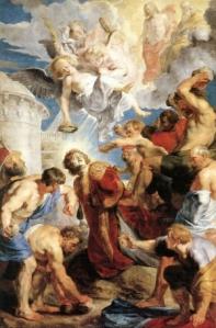The Martyrdom of St Stephen Peter Paul Rubens, 1616-17 Musée des beaux-arts de Valenciennes France