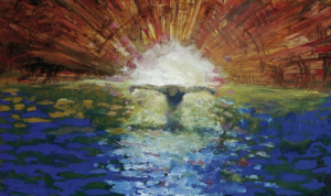 The Baptism of the Christ Daniel Bonell (1999) Saint George's Cathedral in Jerusalem, Israel